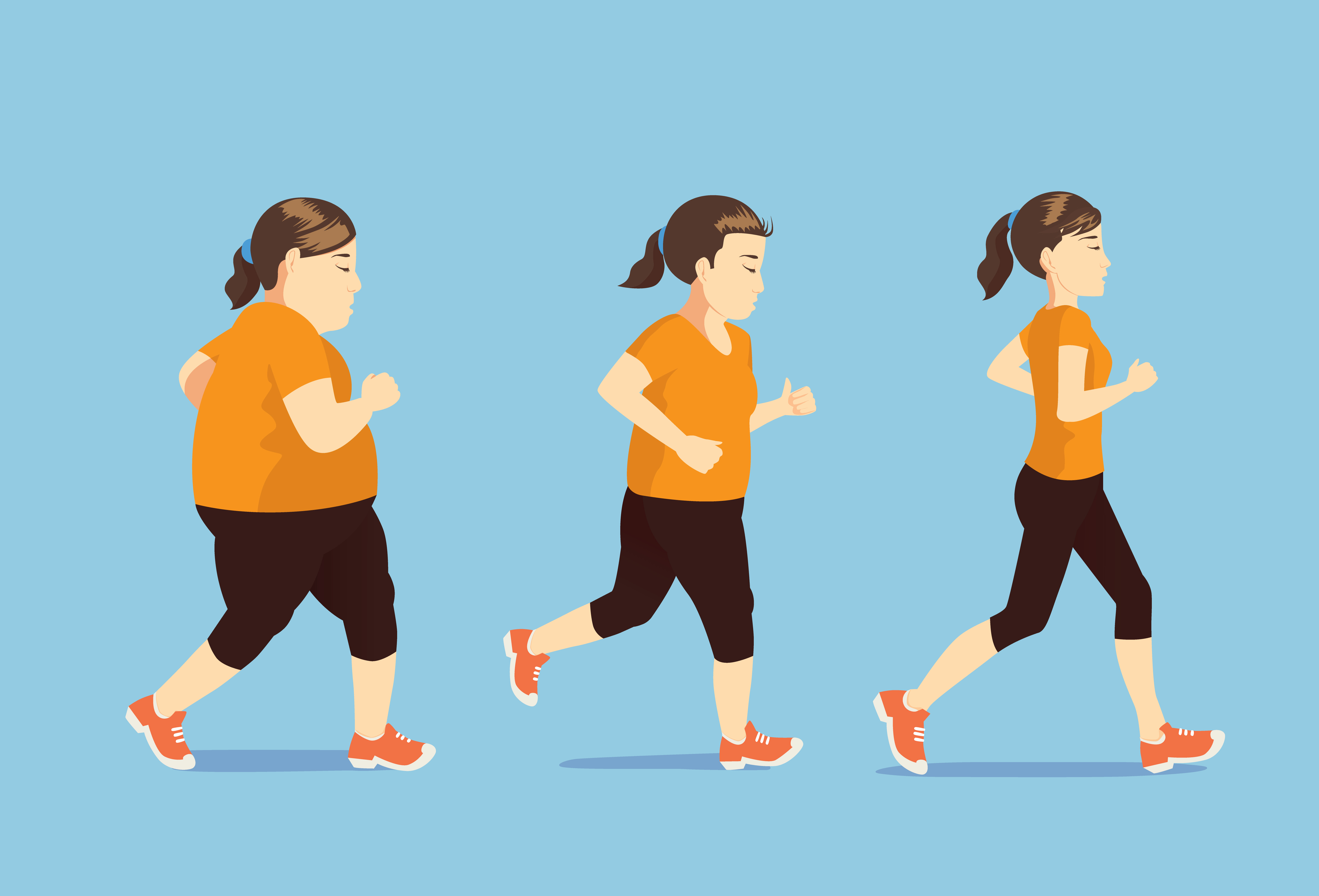 how running help you lose weight