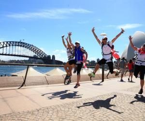 Wild Women on Top Sydney Coastrek Team Challenge