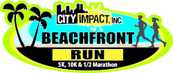 City Impact's 9th Annual Beachfront Run 1/2 Marathon, 10K, 5K & Kids Fun Run