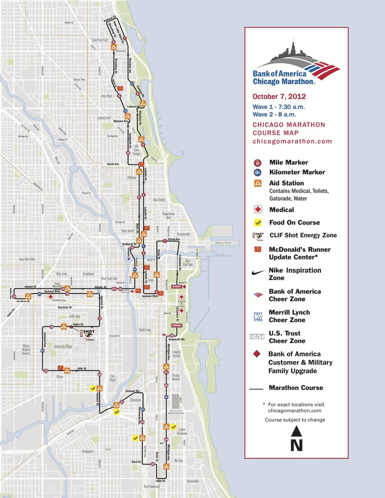 chicago marathon - chicago, illinois, oct 07 2018